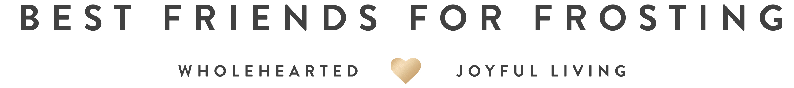 Best Friends for Frosting