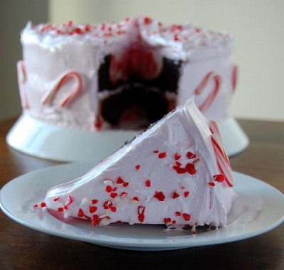 Chocolate Peppermint Stick Marshmallow Fantasy Cake - Best Friends For ...