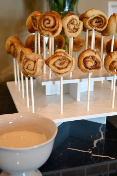 How To Make Cinnamon Roll Pops - Best Friends For Frosting