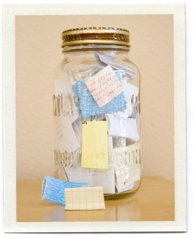 New Years Memory Note Jar Best Friends For Frosting