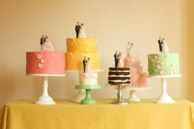 Vintage Wedding on Vintage Wedding Cake Toppers