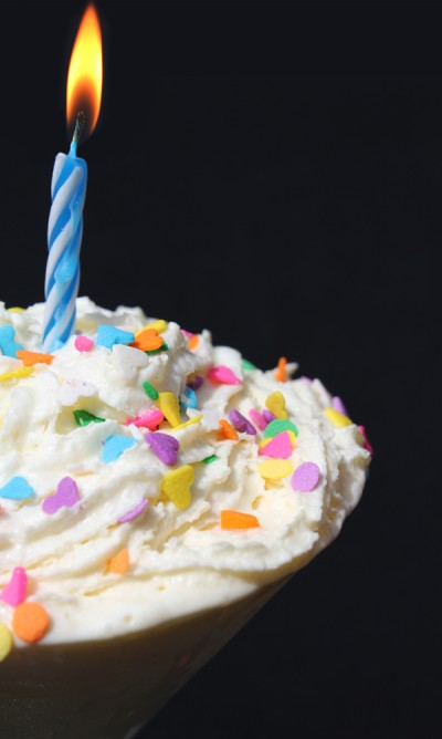 Alcoholic Birthday Cake Shake