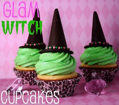 Halloween Cupcakes Witches Hats Witch Hat Cupcakes by