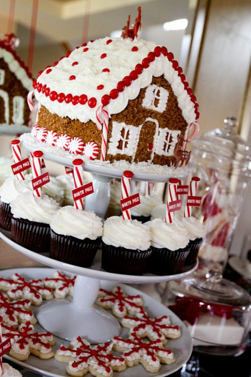 Best Christmas Desserts.Christmas Gingerbread Dessert Table Best Friends For Frosting