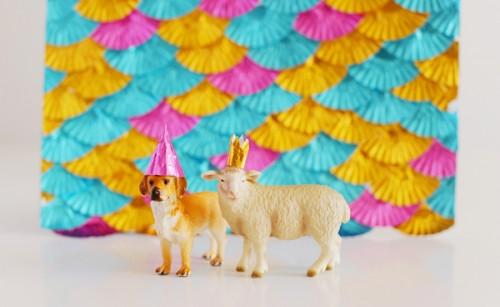 DIY Foil Baking Cup Party Decorations   Best Friends For