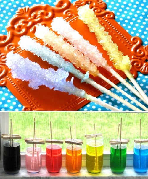 Candy was in my sixth grade science class i ve seen rock candy in