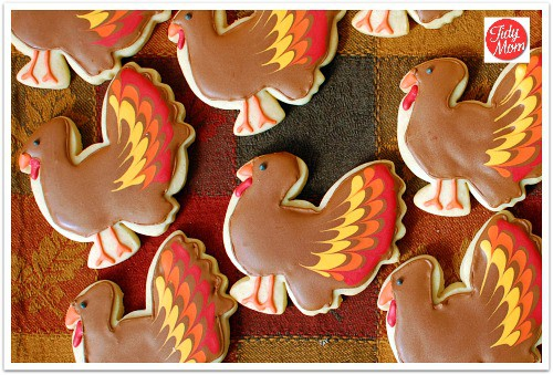 Easy Thanksgiving Cookies Best Friends For Frosting