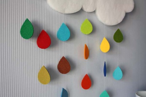 DIY Rain Cloud Wall Art for Baby Room – Best Friends For Frosting