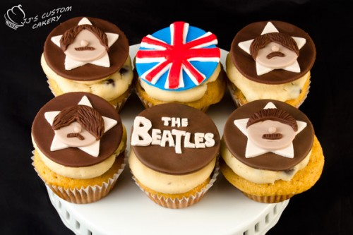 Beatles 50th Anniversary Celebration Desserts
