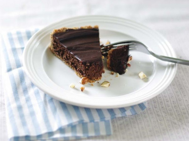 Almond Macaroon Torte With Chocolate Frosting Recipe — Dishmaps