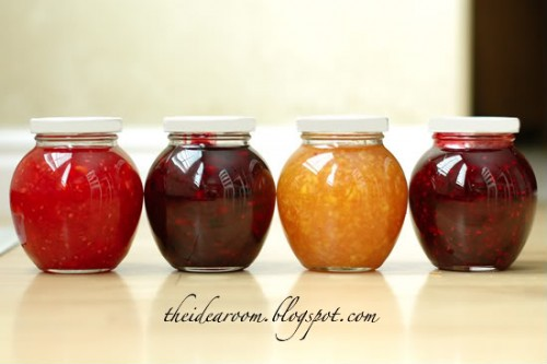 recipes for frozen jam