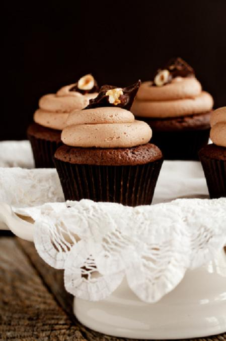 Nutella Cupcakes | Best Friends For Frosting