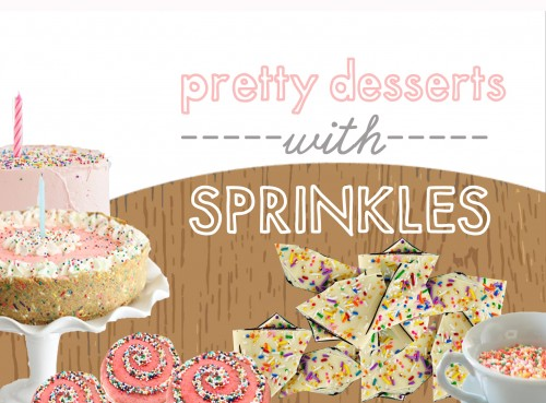 Desserts with Sprinkles