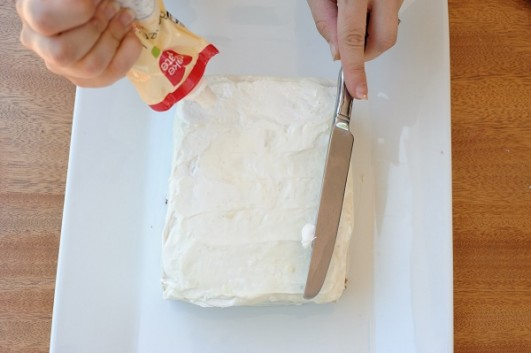 white-cake