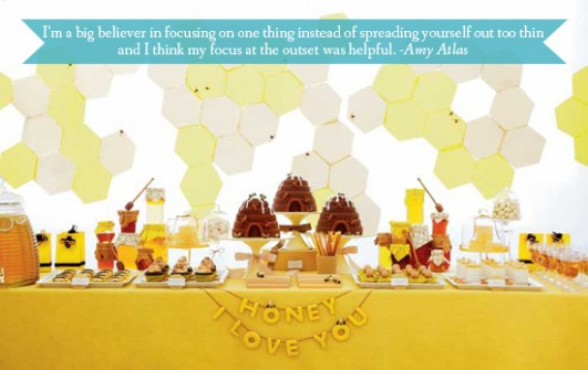 bee-dessert-table
