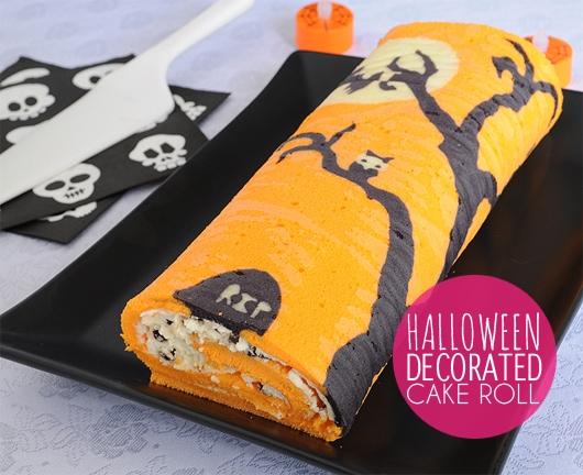 Halloween-cake-roll