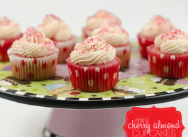 mini-cherry-almond-cupcakes
