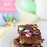 Easter M&M's Blondies Recipe