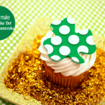How to Make Glitter Polka Dot Fondant Shamrocks