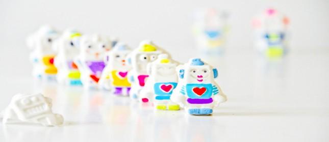 plaster-robots
