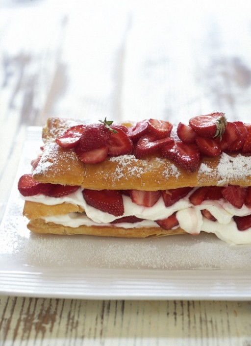 strawberry-mille-feuille