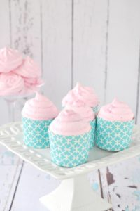Meringue Topped Cupcakes