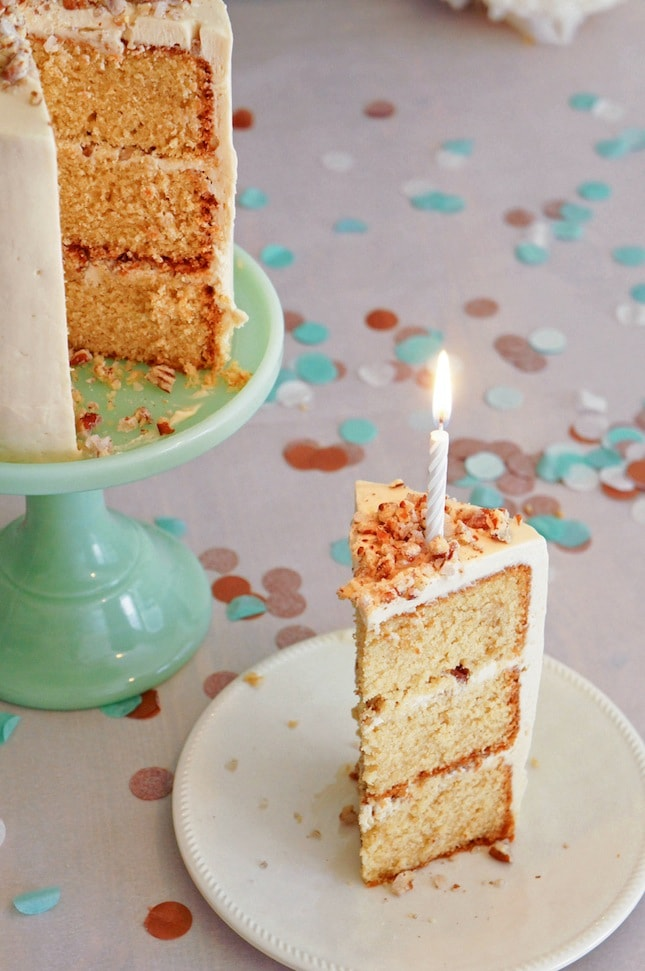 Hazelnut cake with praline and milk chocolate buttercream - 100th Post ...
