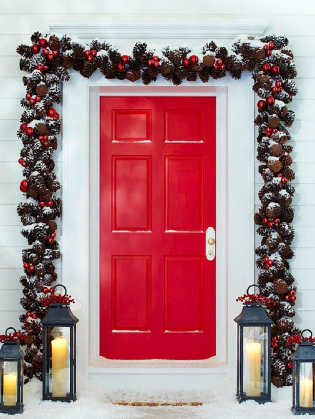 Front porch christmas decor best friends for frosting for Better homes and gardens christmas decorating ideas