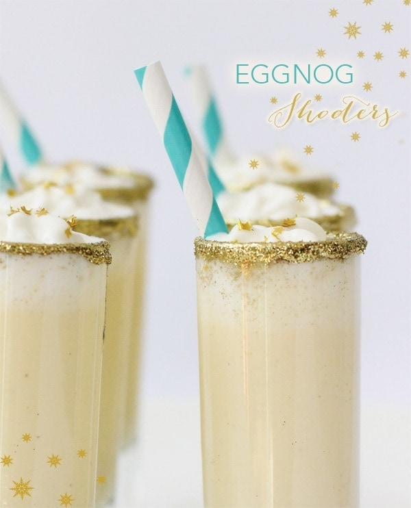 EGGNOG SHOOTERS RECIPE | Best Friends For Frosting