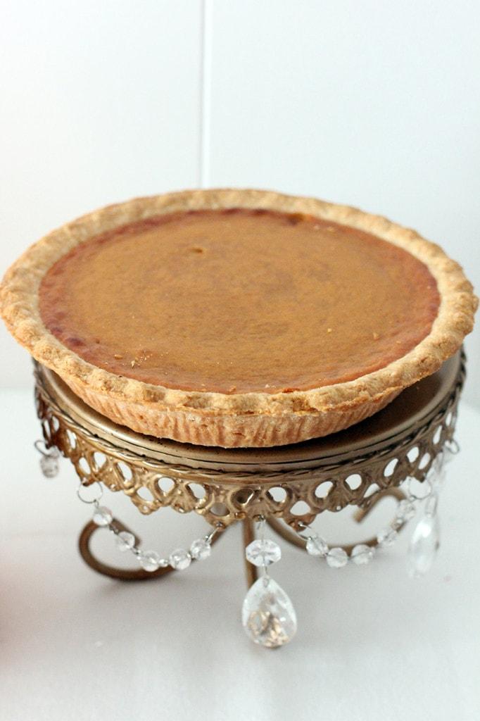 truvia pumpkin pie full