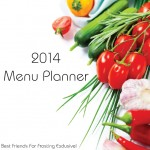 BACK ON TRACK IN 2014 MENU PLANNER