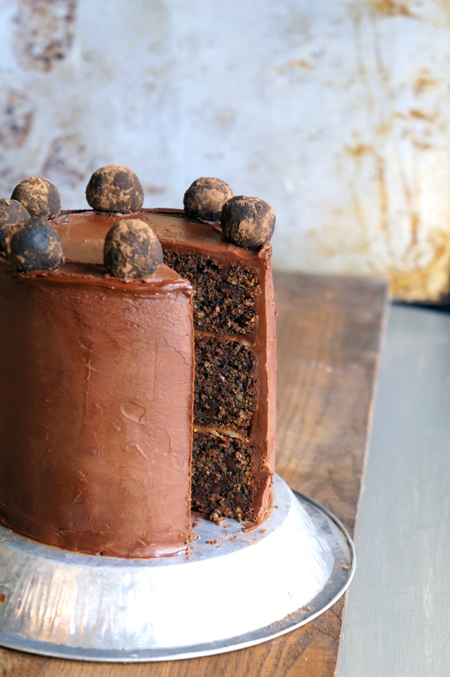Triple Layer Chocolate Marzipan Cake Recipe Best Friends