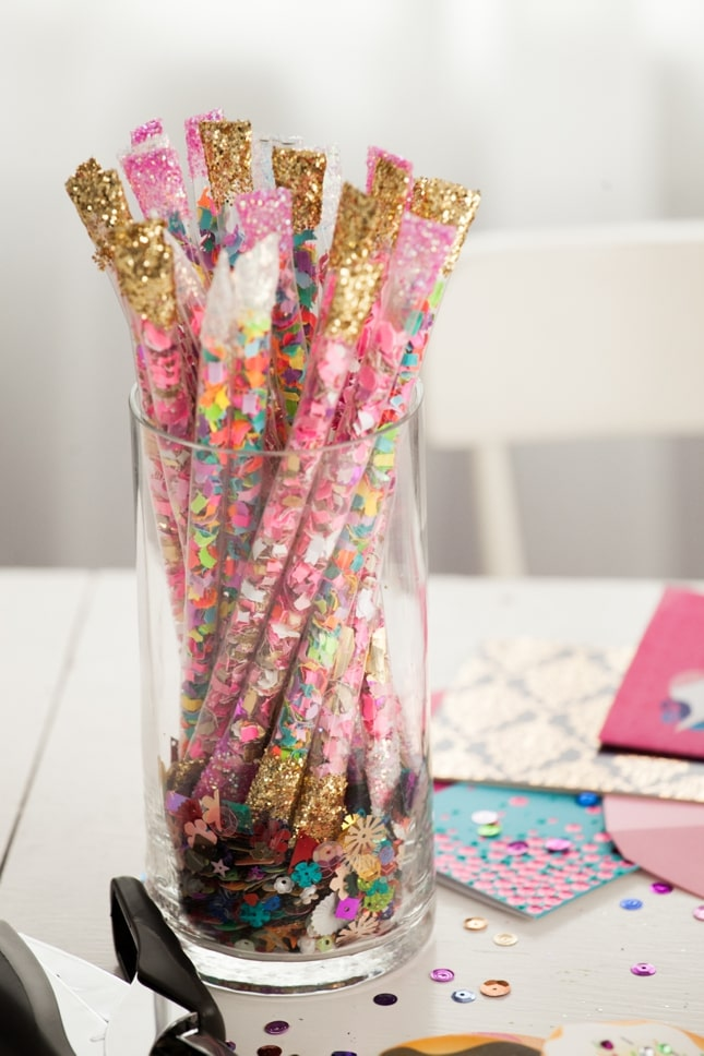 How To Make Diy Confetti Sticks Best Friends For Frosting