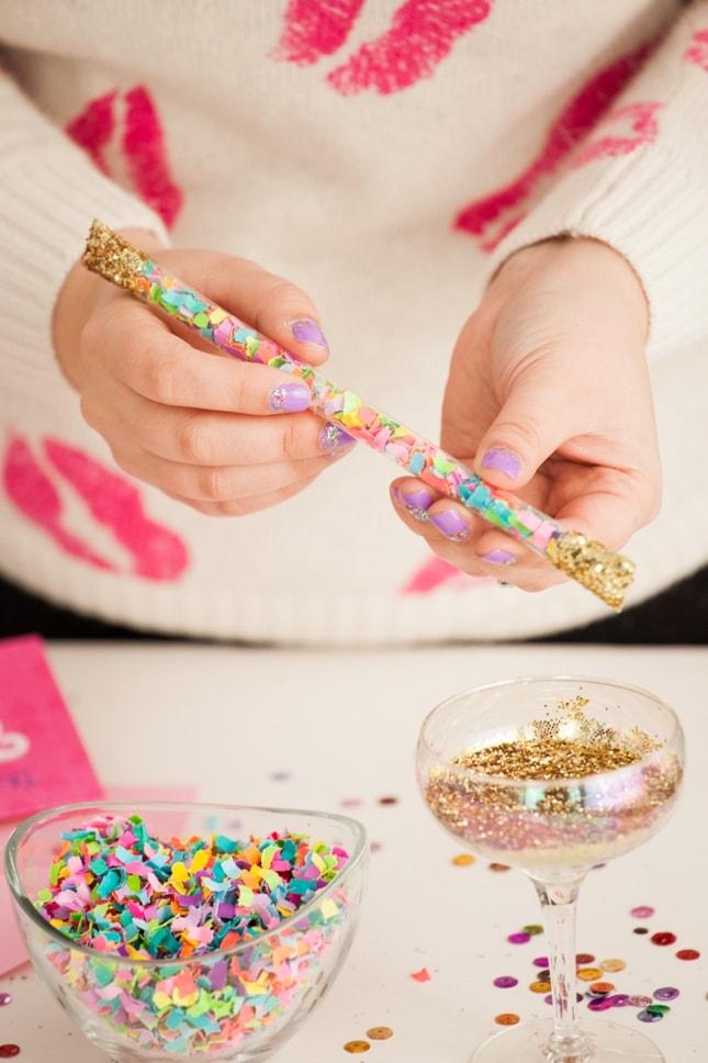 glittery-confetti-stick
