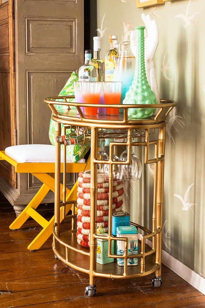 Chic Styled Bar Carts Best Friends For Frosting