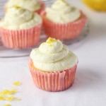 LEMON CUPCAKES WITH WHIPPED BUTTERCREAM FROSTING RECIPE