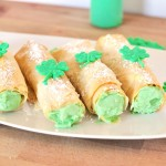 ST. PATRICK'S DAY PHYLLO ECLAIRS RECIPE
