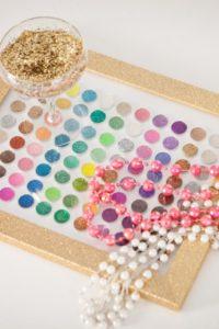 glitter-art-framed