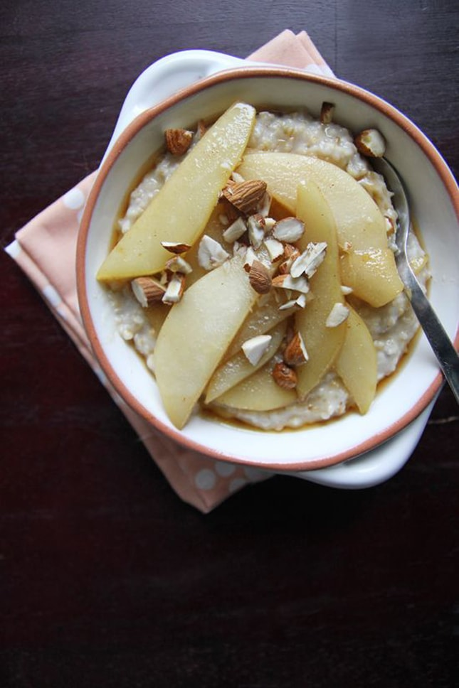 steel-cut-oats-cinnamon-pears-chocolate-shavings