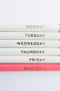 weekday-pencils