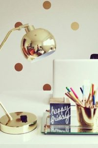 Gold Desk Lamp
