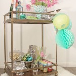 DIY EASTER BAR CART TUTORIAL