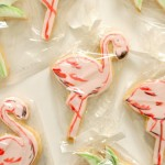 6 PRETTY DECORATED COOKIES