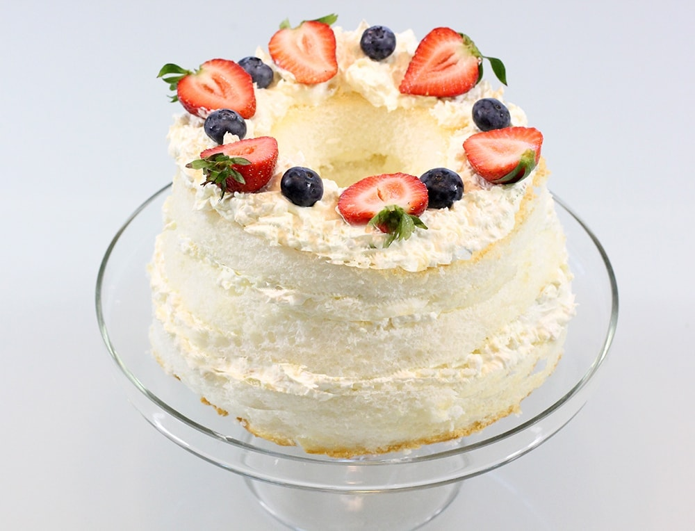 Fruity angel food cake recipe best friends for frosting forumfinder