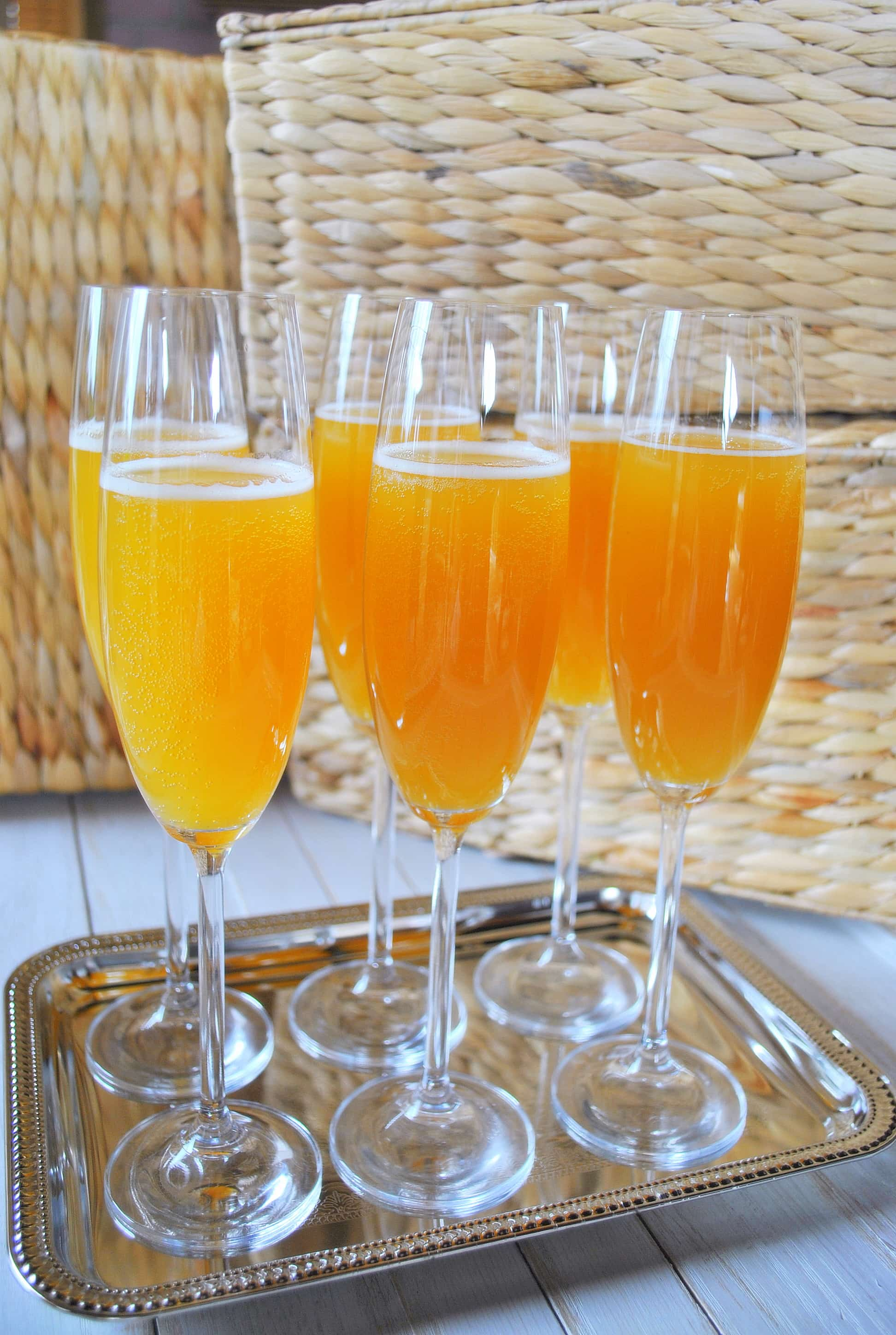 PEACH MIMOSA RECIPE | Best Friends For Frosting