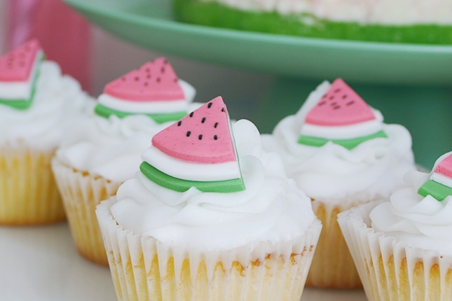 Watermelon Party Amp Fondant Toppers Recipe Best Friends