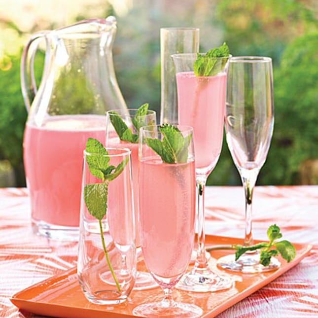 5 fun pink drinks to serve at your next shower or party for Easy cocktail recipes for parties