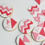 HOW TO MAKE GEOMETRIC TOPPERS FOR COOKIES & CUPCAKES