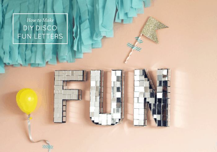 disco-fun-letters
