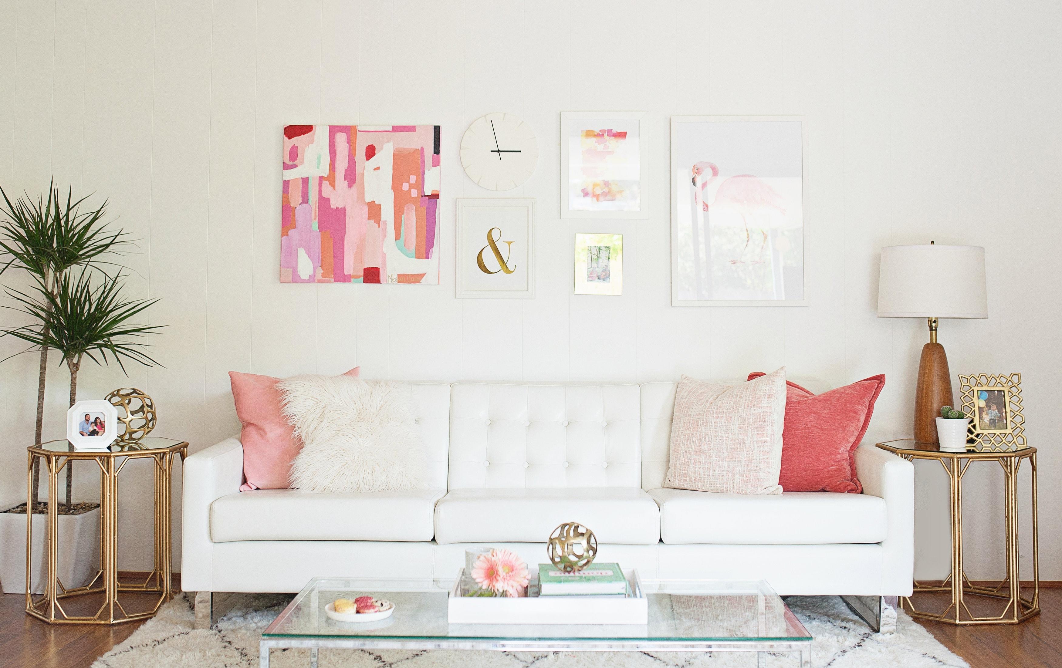 Melissa Johnson S Modern Living Room Makeover Best